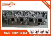 Κεφάλι κυλίνδρων της NISSAN Navara YD25 2.5DDTI DOHC 16V 2005 - 11039 - EC00A